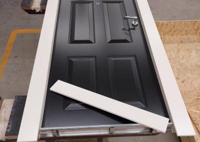 assembling front security door Munitus