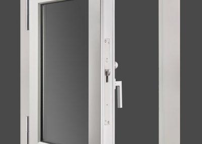 Opened security RC3 Bullet-proof BR4 window Munitus (