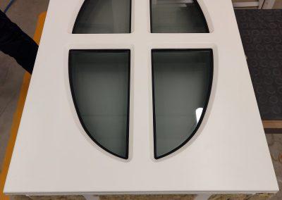 BR4 bullet resistant window