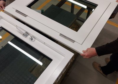 BR4 bullet-proof window with panels