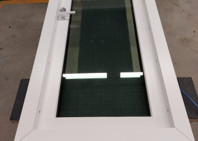 Bullet-resistant BR4 RC4 window with panels