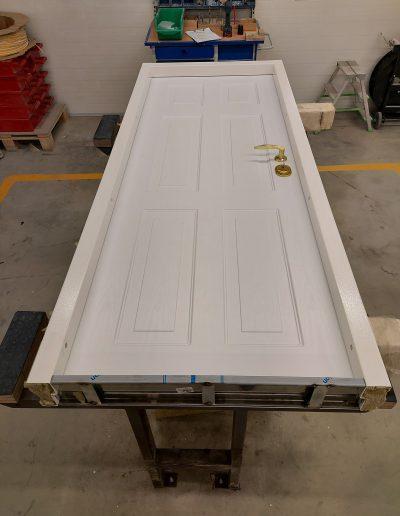 Munitus custom made security apartment door with PVC panel