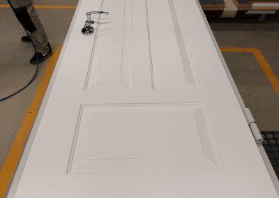 Munitus security door with MF milling