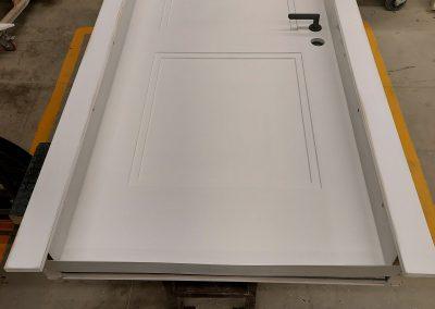 Munitus Bullet resistant door with panels prepared for paiting