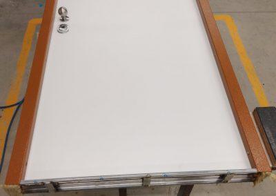 Munitus security door RC3 with PVC panels