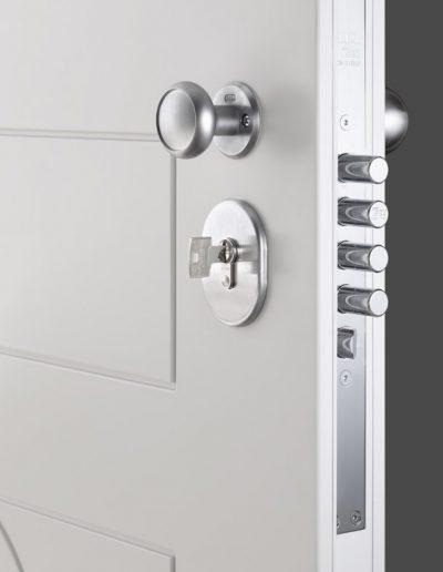 Munitus security door lock pins