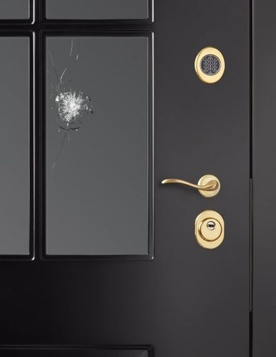 Opened security RC3 Bullet-proof BR4 window Munitus