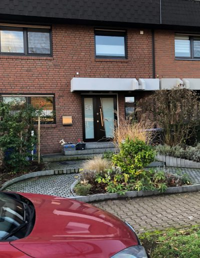 Munitus Security door with sidelight installed in Germany