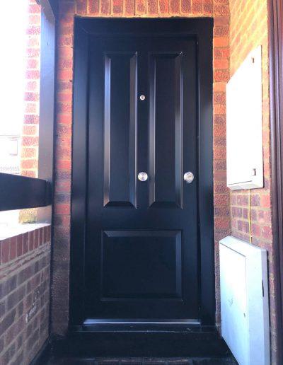 Munitus Security front door installed in the UK
