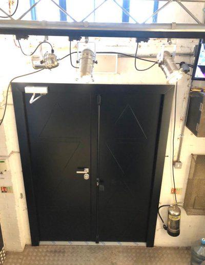Munitus Double security door installed in the UK