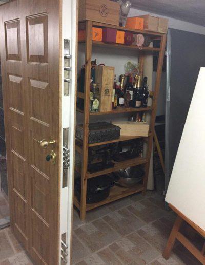 Munitus RC4 security door in wine cellar in Germany.