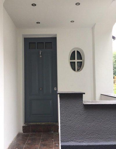 Munitus security door and security window instaled in Germany