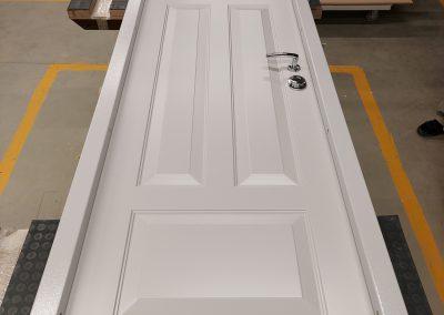 Danish style custom made security apartment door