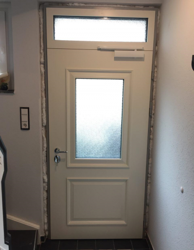 Munitus Security door with transom installed in Germany