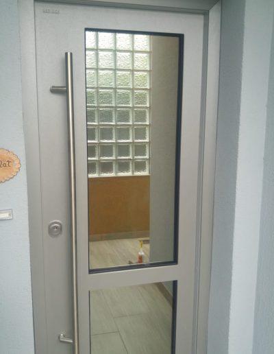 Munitus Security door with glass installed in Germany