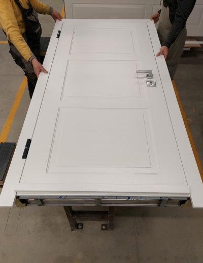 apartment door RC3 with painted finishing panels