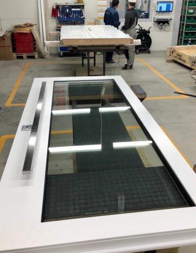 Munitus Security doorswith glass P6B