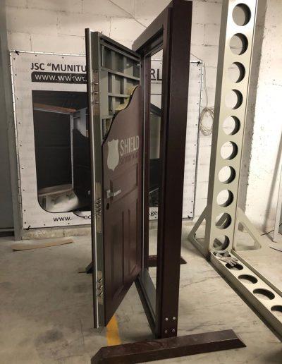 Munitus demo door for one of our dealers