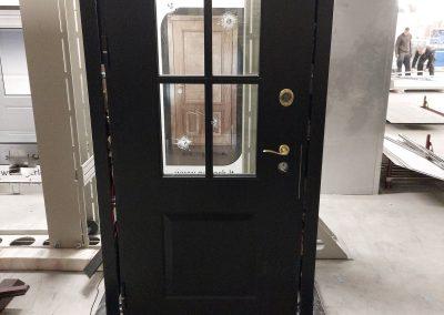 Munitus bullet-resistant FB 4 demo door for one of our distributors