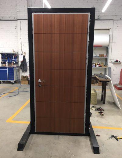Munitus demo door for one of our distributor