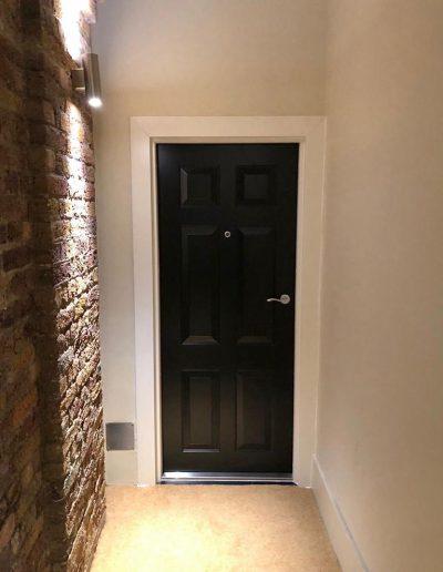 Munitus front security door installed in UK