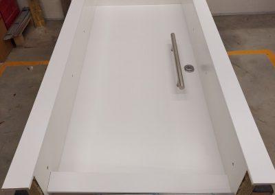 Munitus security door RC3 with wide frame