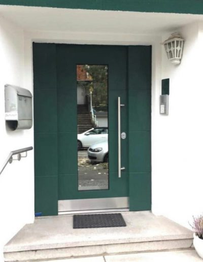 Munitus security door with side parts installed in Germany