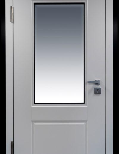 Muntus Security door RC3 door model Gerlock Classic with glass
