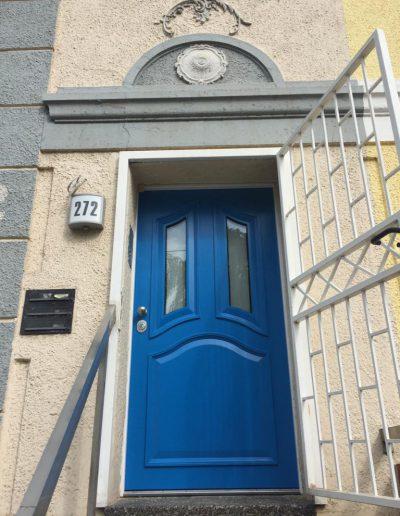 Muntus security front door installed in Germany