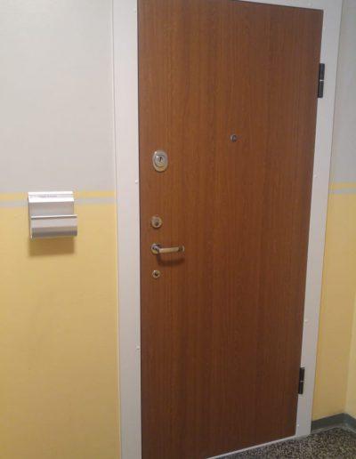 Munitus Security appartment door RC3 installed in Sweden