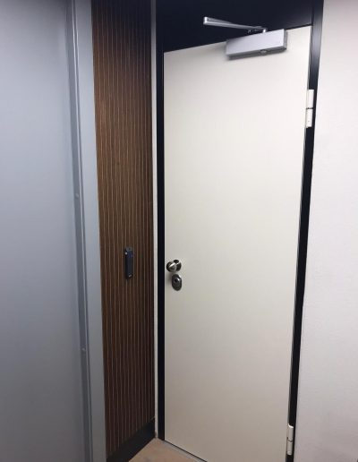 Munitus Security door installed in the Netherlands