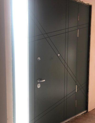 Munitus Security door installed in the UK