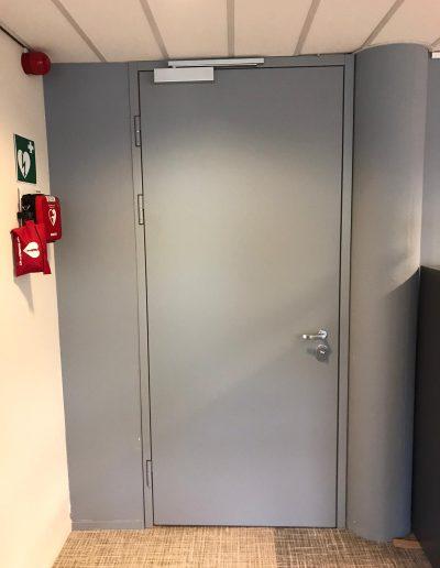 Munitus Security doors installed in the Netherlands in Belgium embassy (3)