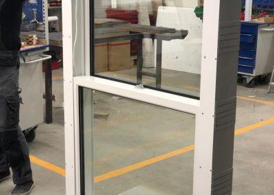 Munitus security sash window P6B