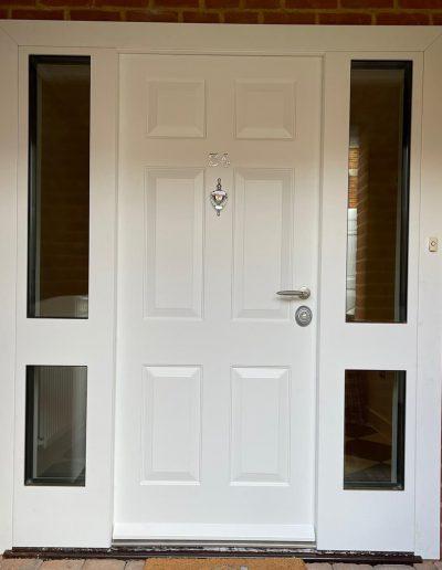 #securitydoors #highsecuritydoors #securitydoorslondon #bespokesecuritydoors #replicadoors #securitydoors #frontdoorwithglasses #doublesecuritydoor (2)