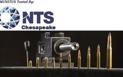 Munitus tested by NTS Chesapeake ballistic resistance