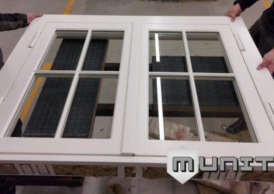 Bullet proof windows BR4 EN1063