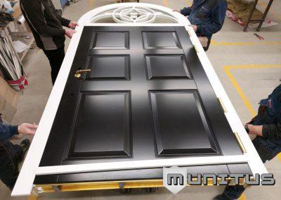 Bullet Resistant door with arche FB4 EN1522 EN1063